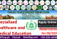PPSC  jobs for Specialized Healthcare and Medical Education Department