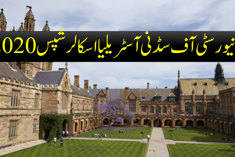 University of Sydney Australia Scholarships 2020