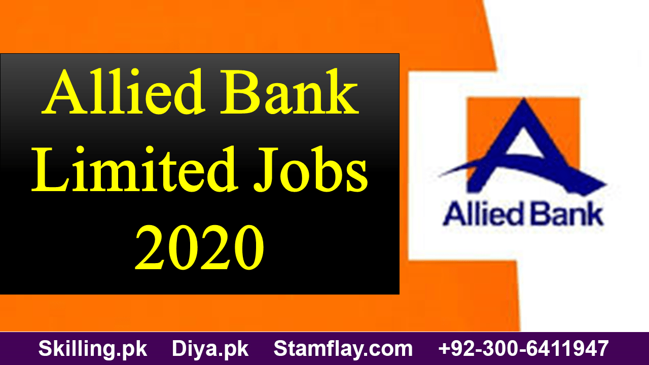 Allied Bank Limited Jobs 2020 - Let's Spread The Light