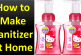 How to Make Sanitizer at Home