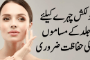 Skin care issues are essential for charming faces
