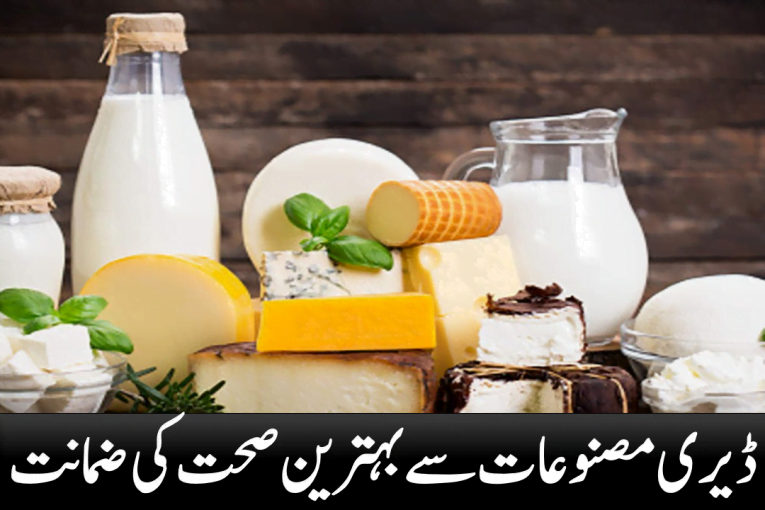 Excellent health guarantee from dairy products
